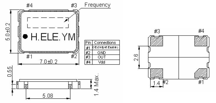 有源晶振,hso751s加高晶体振荡器